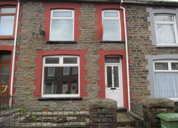 Thumbnail 3 bed terraced house to rent in Cilhaul Terrace, Mountain Ash