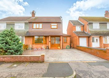 Thumbnail 4 bed semi-detached house to rent in Bankside Road, East Didsbury, Manchester
