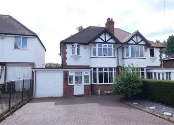 3 bed semi-detached house for sale in Clarendon Road, Four Oaks, Sutton Coldfield B75