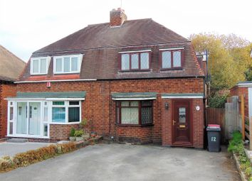 Thumbnail 4 bed semi-detached house for sale in Chattle Hill, Coleshill, Birmingham