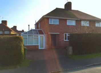 Thumbnail 3 bed semi-detached house for sale in 28 The Crescent, Eccleshall, Staffordshire.