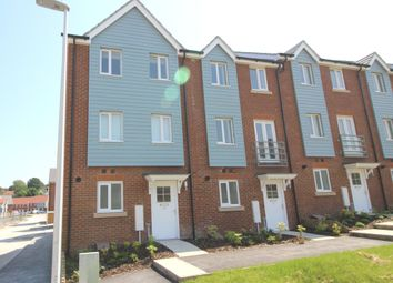 Thumbnail 4 bed town house to rent in Weavers Close, Rodmill / Upperton, Eastbourne