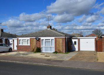 Thumbnail 2 bed detached bungalow for sale in Norman Close, Felixstowe