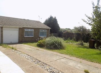 Thumbnail 2 bed semi-detached bungalow for sale in Swanley Close, Eastbourne