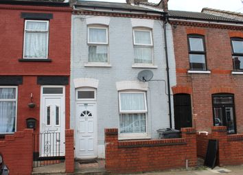 Thumbnail 2 bedroom terraced house for sale in Shirley Road, Luton