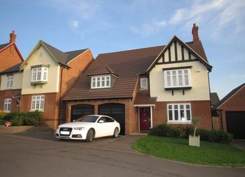 Thumbnail 4 bed detached house for sale in Woodland Lane, Ashby-De-La-Zouch
