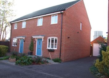 Thumbnail 3 bedroom semi-detached house for sale in Heron Road, Saxmundham