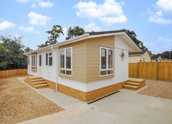 Thumbnail 2 bed mobile/park home for sale in West Drive, Oak Tree Park, St. Leonards, Ringwood