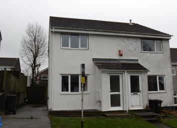 Thumbnail 2 bed semi-detached house to rent in Dunsterville Road, Ivybridge, Plymouth, Devon