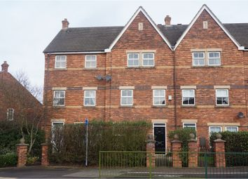Thumbnail 3 bed town house for sale in Sainte Foy Avenue, Lichfield