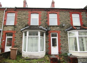 Thumbnail 3 bed terraced house to rent in Thomas Street, Abertridwr, Caerphilly