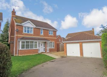 Thumbnail 4 bed property for sale in Alvis Drive, Yaxley, Peterborough