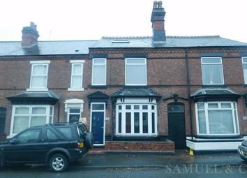 Thumbnail 4 bed terraced house to rent in Hallam Street, West Bromwich