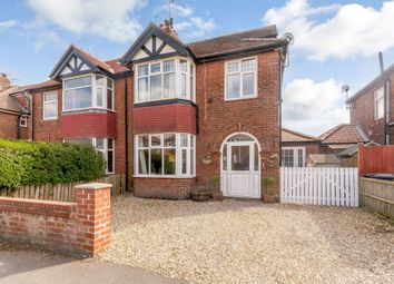 Thumbnail 4 bed semi-detached house for sale in Eastward Avenue, York, North Yorkshire