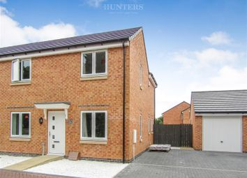 Thumbnail 3 bed semi-detached house for sale in Catherine Close, Gainsborough