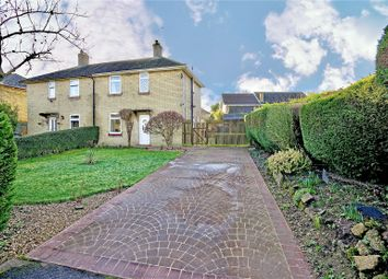 Thumbnail 3 bed semi-detached house for sale in High Street, Hail Weston, St. Neots, Cambridgeshire