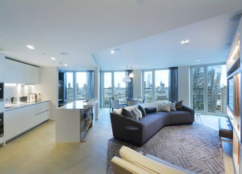 Thumbnail 2 bed flat for sale in Southbank Tower, Upper Ground, London