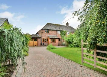 Thumbnail 3 bed semi-detached house for sale in Wood Lane West, Adlington, Cheshire, Uk
