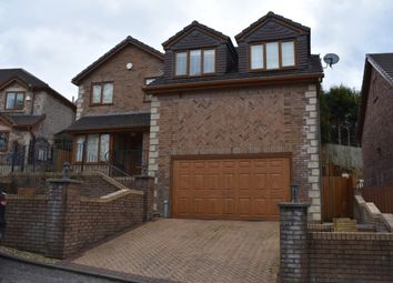 Thumbnail 4 bed detached house to rent in Maes Sant Teilo, Llangyfelach, Swansea