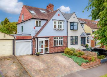 Thumbnail 4 bed semi-detached house for sale in Anglesey Court Road, Carshalton