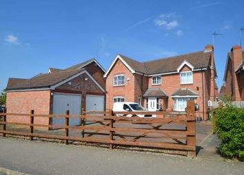 Thumbnail 4 bed detached house for sale in Foxfield Way, Grange Park, Northampton