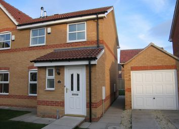 Thumbnail 3 bed semi-detached house to rent in Highfield Close, Dunscroft, Doncaster