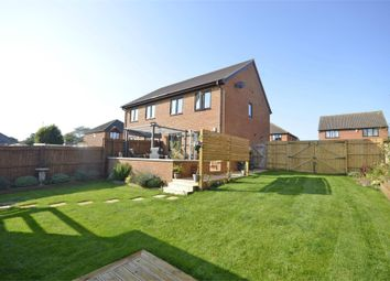 Thumbnail 3 bed semi-detached house for sale in Belmont Gardens, Raunds, Wellingborough, Northamptonshire