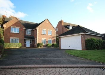 Thumbnail 5 bed detached house for sale in Wrens Nest Close, Shirley, Solihull