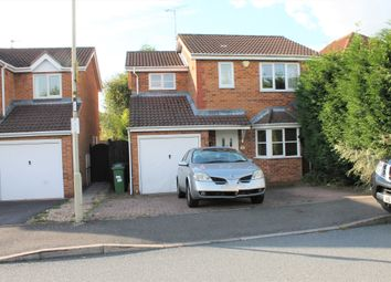 Thumbnail 3 bed detached house for sale in Normandy Close, Leicester