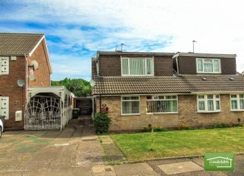 Thumbnail 3 bed semi-detached bungalow for sale in Friesland Drive, Wolverhampton