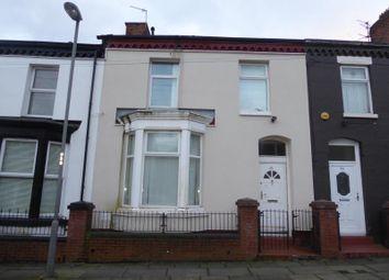 Thumbnail 3 bedroom terraced house for sale in Heyes Street, Liverpool, Merseyside