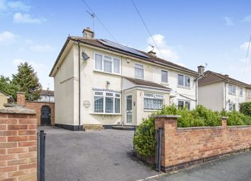 Thumbnail 3 bed semi-detached house for sale in Ringwood Road, Netherhall, Leicester