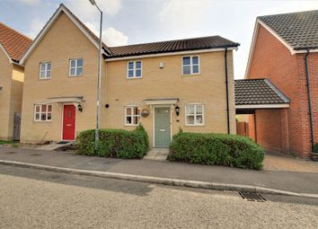 Thumbnail 3 bed semi-detached house for sale in Ranulf Road, Flitch Green, Little Dunmow