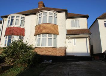 Thumbnail 4 bed semi-detached house to rent in Warren Drive, Chelsfield