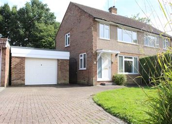 Thumbnail 3 bed semi-detached house for sale in Akehurst Close, Copthorne, Crawley, West Sussex