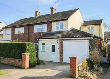 Thumbnail 4 bed semi-detached house for sale in Shepherds Way, Saffron Walden