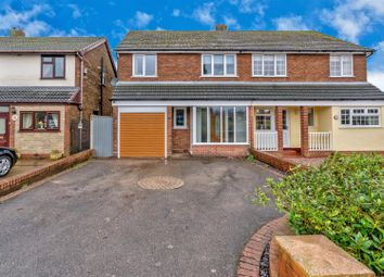 Thumbnail 4 bed semi-detached house for sale in Narrow Lane, Brownhills, Walsall