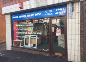Thumbnail Commercial property to let in Double Glazing Repair Shop, New Milton