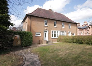 Thumbnail 4 bed semi-detached house for sale in Mill Road, Bothwell, Glasgow
