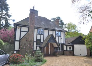 Thumbnail 4 bedroom detached house for sale in Heather Drive, Ascot
