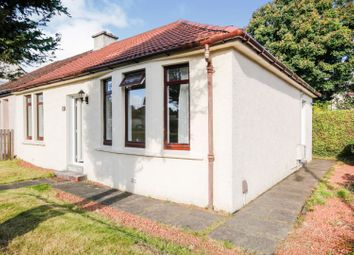 Thumbnail 2 bed bungalow for sale in Glen Crescent, Glasgow