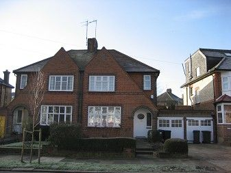 Thumbnail 3 bed semi-detached house to rent in Woodside Park, North Finchley