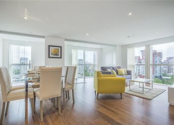 3 bed flat for sale in Talisman Tower, 6 Lincoln Plaza, London E14