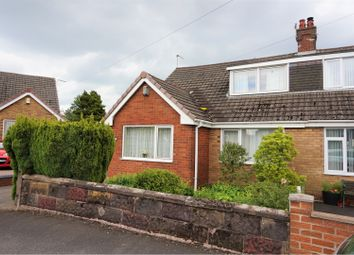 Thumbnail 3 bed semi-detached bungalow for sale in Bernard Grove, Meir Heath; Stoke-On-Trent