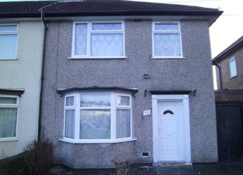 Thumbnail 3 bed town house to rent in Finch Road, Dovecot, Liverpool