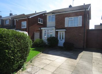 Thumbnail 3 bed detached house for sale in Kensington Close, Oadby, Leicester