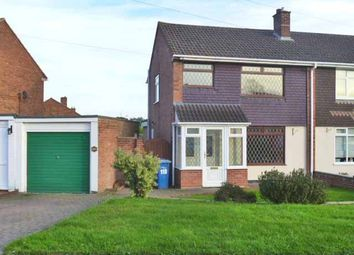 Thumbnail Semi-detached house to rent in Mildenhall, Tamworth, Staffordshire