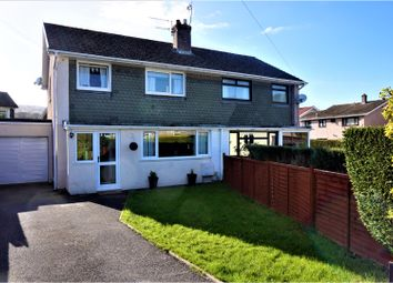 Thumbnail 3 bed semi-detached house for sale in Hillview, Abergavenny