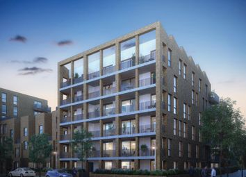 Thumbnail 2 bed flat for sale in Brentford Lock West, Durham Wharf Drive, London
