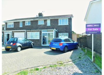 Thumbnail 4 bed semi-detached house for sale in The Moorings, Shoreham-By-Sea